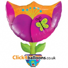 Fantasy Tulip Large Foil Balloon 1pc